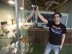 Mike Babins' Evergreen Cannabis Store was the first legal licensed retail cannabis shop to open in Vancouver.
