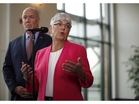 Finance Minister Carole James has negotiated 2 per cent annual, three-year, contracts with public sector unions. But MLAs are receiving a 2.7 per cent increase to their pay this year.