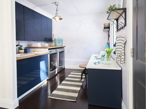 Presenting your laundry room as the organizational hub of the home is a great home-staging tip. Photo: Lisa Canning