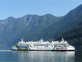 B.C. Ferries says drivers must leave their cars if they are on a closed deck despite calls for people to engage in social distancing.
