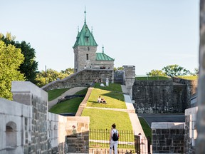 The fortifications around Old Quebec stretch 4.5 km in length and were part of a defence system built between 1608 and 1871.