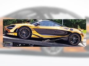 North Vancouver RCMP impounded a 2018 McLaren 720S after they clocked the car travelling at 151 km/h in an 80 km zone