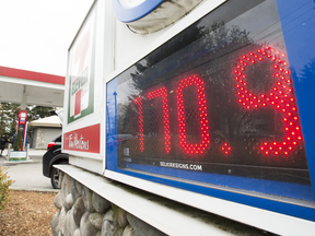 A directive by the New Democrats to the B.C. Utilities Commission to look into high gas prices had several restrictions and a short timeline to get it done.