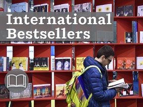International bestsellers for the week.