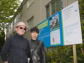 Morgan and Jeany Kroon are facing possible demoviction in the 6300 block of East Boulevard in Vancouver.
