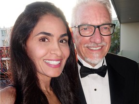 Farah Sayani chaired and Lions Gate Hospital Foundation chair Pierre Lebel aided a gala at the North Vancouver waterfront Polygon Gallery that reportedly netted $1.2 million for new-technology services.