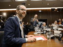 Gerald Butts, former principal secretary to Prime Minister Justin Trudeau, testifies before the House of Commons justice committee on Parliament Hill on March 6, 2019.