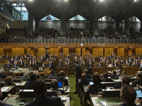 The House of Commons in Ottawa.