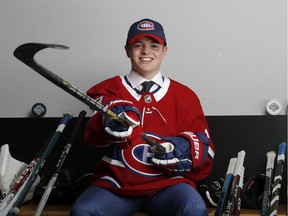 Wisconsin winger Cole Caufield was selected 15th overall by the Canadiens in the 2019 NHL draft.