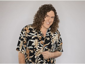 Song parodist 'Weird Al' Yankovic brings his Strings Attached Tour to the Queen Elizabeth Theatre Aug. 19.