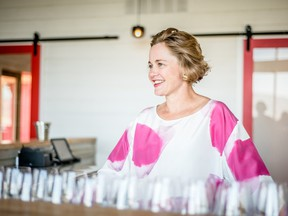 Heidi Noble, the owner of JoieFarm Winery, creates cool wines in a hot climate.