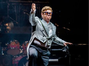 Elton John will play the third and final concert of his Vancouver stop on the Yellow Brick Road Tour on Tuesday at Rogers Arena.