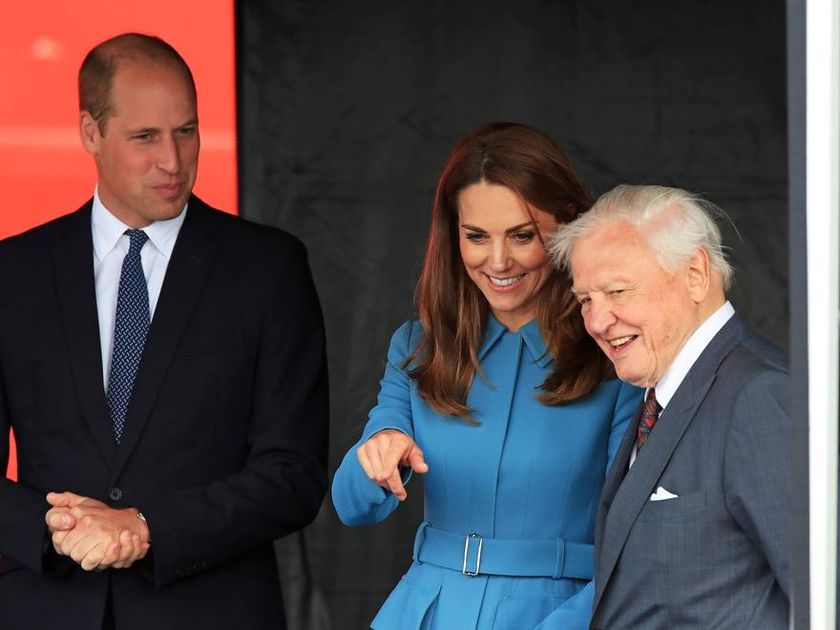 The Duke and Duchess of Cambridge made a brief appearance via video chat this week to thank Fraser Health staff for their work battling COVID-19. Prince William and Catherine, Duchess of Cambridge join Sir David Attenborough for the naming ceremony of the polar research ship, which the public voted to call Boaty McBoatface, at the Cammell Laird shipyard in Birkenhead, Birkenhead, Britain, September 26, 2019.