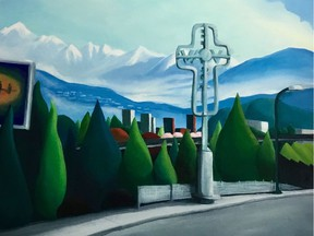 Visitors to this year's ever-popular Eastside Culture Crawl (Nov. 14-17) can check out work like Iris Mes's East Van.