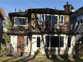 This home on West 22nd Avenue in Vancouver's Dunbar neighbourhood sold this year for nearly $800,000 less than its purchase price two and a half years ago.