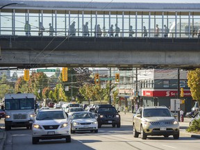 A 32-year-old Vancouver man has been charged for allegedly attacking another man with a set of box cutters outside a SkyTrain station.