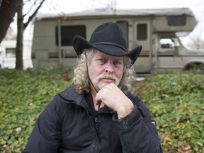 Peter Carson lives in his motorhome on the streets of Vancouver.