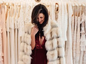 Alyssa Beltempo is a vintage and slow-fashion advocate that focuses on classic, well-made pieces. Photo: Katarina Kuruc.