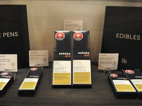 Selection of edibles available at Muse Cannabis Store in Vancouver.