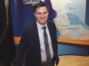 Joel McKay, CEO of the Northern Development Initiative Trust, an economic-development group, delivered a state-of-the-North address to the B.C. Natural Resources Forum on Thursday.
