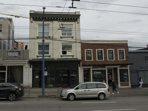 """Single-room occupancy hotels, such as this one on East Hastings, have long been """"cash-cow"""" investments, providing a steady return of income for owners."""