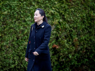 Huawei Chief Financial Officer Meng Wanzhou leaves her home to attend the start of her extradition hearing at B.C. Supreme Court in Vancouver, British Columbia, Canada January 20, 2020.  REUTERS/Lindsey Wasson