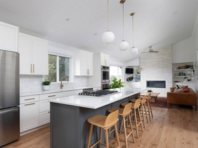 This Coquitlam home was extensively renovated in 2018.