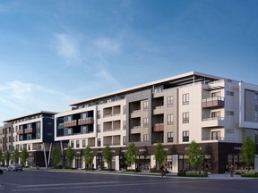 Amson Square will be situated at 72nd Avenue and 144 Street in Surrey, within walking distance of a wide range of restaurants, shops and services.