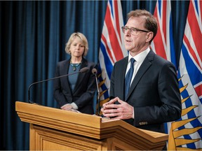 Health Minister Adrian Dix and Chief Provincial Health Officer Dr. Bonnie Henry provide an update on COVID-19 on March 31, 2020