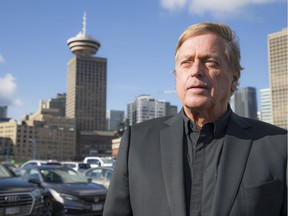 Ian Tostenson is CEO of the B.C. Restaurant Association, talking in Vancouver about the economic fallout from the COVID-19 pandemic.