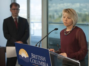 Dr. Bonnie Henry is expected to share the latest update on COVID-19 cases in B.C. on Thursday afternoon.