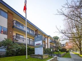 Royale Rental Apartments at 1848 West 3rd Ave. in Vancouver on March 25. To support people during the COVID-19 crisis the B.C. government has introduced a temporary rental supplement and halted evictions.