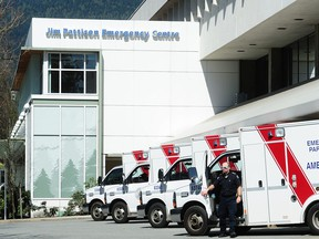 Three staffers at Lions Gate Hospital have tested positive for COVID-19.