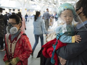 Air travellers are now required to wear masks that cover their nose and mouth while moving through Canadian airports and on board flights, beginning April 20.
