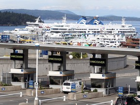 Starting Monday, B.C. Ferries will perform health checks on passengers.
