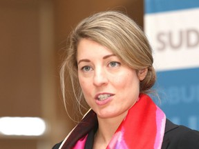 Mélanie Joly, Mélanie Joly, minister responsible for Western Economic Diversification Canada