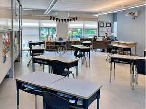 The union representing B.C. teachers is calling for smaller class sizes and a stricter mask policy.