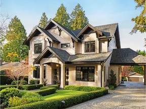 This custom-built Kerrisdale home sold for $8,618,779.