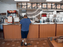 No one was laid off at LaSalle Drive-in, but four employees left to rely on federal CERB payments instead.