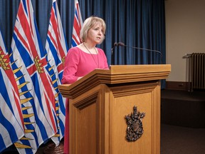 Health officials are set to share an update on B.C.'s COVID-19 cases on May 13.