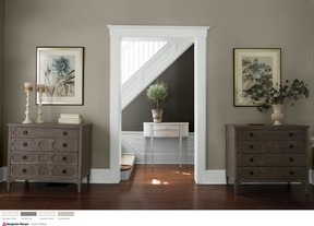 Repaint without lifting a brush, thanks to the Benjamin Moore Colour Portfolio app.