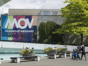 Late this month or early June looks like the time that we'll see the Museum of Vancouver reopen.