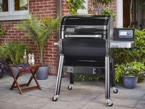 The summer of smoking on the grill is positioned to be this season's biggest grilling trend. Weber SmokeFire EX4 pellet grill, $1,299, rona.ca