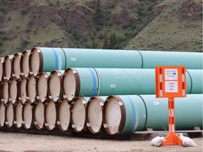 Standing by to start construction on the Trans Mountain pipeline expansion project.