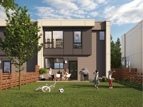 Hilltop — final phase of townhomes at Seymour Village in North Vancouver — will offer three- and four-bedroom homes with private, fenced backyards and spacious interiors.