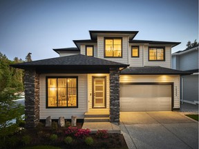 Homes at Pacific at McNally Creek will range in size from 3,559 to 3,728 square feet.