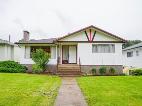 This four-bedroom home in Vancouver's Fraserview subdivision was purchased for $1,675,000 after two days on the market.