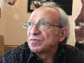 Two years ago when this photo was taken, Francisco Covelli's Alzheimers was manageable. Now, 71, the isolation caused by COVID restrictions has led to a dramatic decline in his physical and mental health.