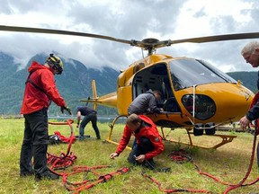A missing hiker on Mount Seymour was rescued Sunday afternoon after crews were forced to suspend their search overnight before resuming in the daylight.