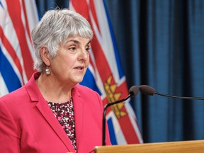 Finance Minster Carole James says the COVID-19 pandemic has pushed B.C. into an unprecedented deficit.